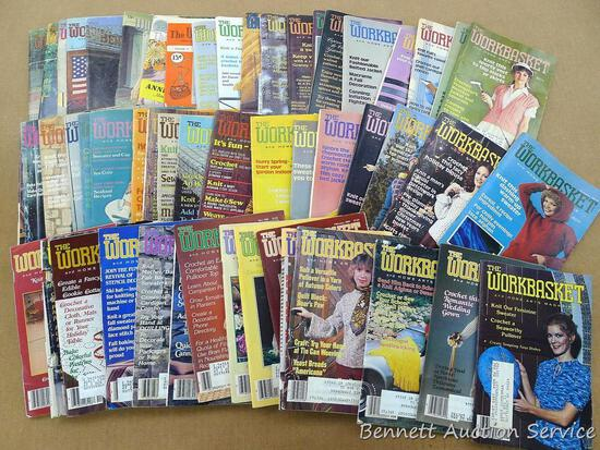 The Workbasket magazines from the 1950's, 1970's, and 1980's.