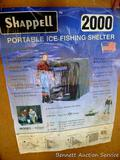 Shappell portable ice fishing shelter S2000 is 42