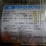 Marathon Electric motor, new in box, 3/4 HP, 1725 rpm, 115/208-230 volt single phase continuous