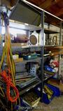 Heavy duty metal shelf unit is 18