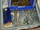 Nice collection of snap hooks, eye hooks, gate hooks, pulleys, quick links, turnbuckles and more.