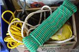 Assortment of rope up to 1/2
