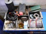 Plastic storage tray 15