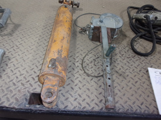 """3 1/2"""" x 20"""" CYLINDER & CABLE WINCH"""