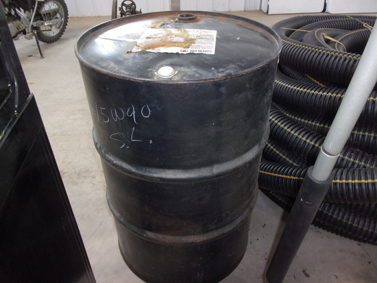 50 GAL. STEEL OIL BARREL