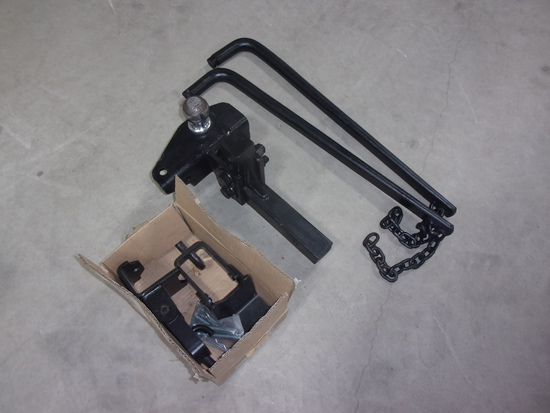 CUSHION/TORSION RECEIVER HITCH FOR PICKUP