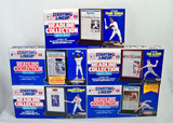 Lot of 5 Kenner Starting Lineup Headline Collection Baseball Figures, Unopened Orig. Boxes