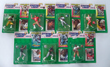 Lot of 7 Kenner Starting Lineup 1993 Edition Football Action Figs. W/Special Series Card