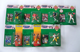 Lot of 7 Kenner Starting Lineup Football Action Figs., 1994 & 95 Editions in Orig. Pkgs.