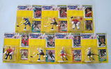 Lot of 7 Kenner 1993 Starting Lineup Hockey Action Figures W/First Year Edition Special Series Card