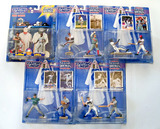 Lot of 5 Kenner Starting Lineup Baseball Classic Doubles 1997 & 98 Series Winning Pairs