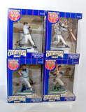 Lot of 4 Kenner Starting LIneup 1997 Stadium Stars Cooperstown Collections, Sealed Boxes