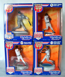 Lot of 4 Kenner Starting LIneup 1995 & 96 Stadium Stars Action Figures, Sealed Boxes