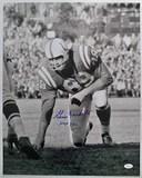 Gino Marchetti #89 Baltimore Colts, HOF '72 Autographed 16 x 20 Photograph, JSA