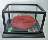 Brett Favre #4 Green Bay Packers Autographed Brown Wilson