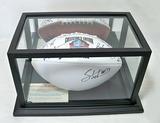 Autographed Class of 2014 Pro Football HOF White Panel Football, 7 Signatures, COA