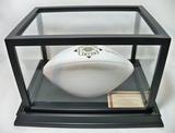 Autographed Art Shell Pro Football HOF Collector's Edition White Panel Wilson Football, COA