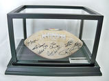 Pittsburgh Steelers Dynasty Autographed Football, Eight Signatures, COA