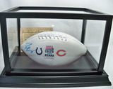 Peyton Manning Autographed Super Bowl XLI Football, Colts vs Bears, COA