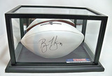 Brian Hoyer Autographed N. England Patriots Charitable Foundation White Panel Wilson Football, COA