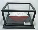 Howie Long #75 Autographed White Panel Football, COA