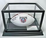 Emmitt Thomas Autographed Pro Football HOF White Panel Wilson The Duke NFL Football, COA