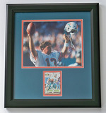 Dan Marino #13 Miami Dolphins Autographed 8 x 10 Photo W/ Pro Line Trading Card, COA