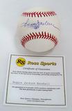 Reggie Jackson Autographed Rawlings Official Major League Baseball, COA