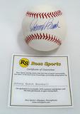 Johnny Bench Autographed Rawlings Official Major League Baseball, COA