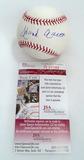 Hank Aaron Autographed Rawlings Official Major League Baseball, JSA COA