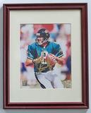 Mark Brunell #8 Quarterback Jacksonville Jaguars Autographed 8 x 10 Photograph, COA