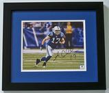 Austin Collie #17 Indianapolis Colts Wide Receiver Autographed 8 x 10 Photograph, COA