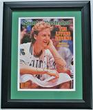 Boston Celtics Larry Bird Signed Sports Illustrated Facsimile Cover March 1986, COA