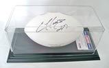 Ellis Hobbs #27 N.England Patriots Autographed White Panel Patriots Football, COA