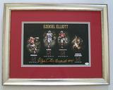 Ezekiel Elliott #15 Ohio State Buckeyes Signed 11 x 14 Photograph, JSA COA