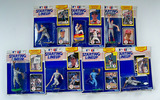 Lot of 7 Starting Lineup 1990 Edition Baseball Action Figures w/ Rookie Yr. Collector Card