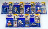 Lot of 7 Kenner Starting Lineup 1990 Edition Baseball Action Figures W/ Rookie Yr. Collector Card