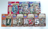 Lot of 7 Kenner Starting Lineup Cooperstown Collection Baseball Action Figs. W/ Trading Card