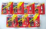 5 Starting Lineup Basketball Action Figs. W/ Special Series Poster & 2 W/ Collectors Coin