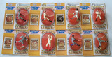 Lot of 8 Kenner Starting Lineup 1994 Edition Cooperstown Series Action Figures W/ Trade Card in Pkg.