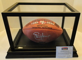 Steve Young Signed NFL Football With Holograms, COA and Display Case