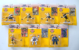 Lot of 7 Kenner Starting Lineup 1995 Canadian Edition Hockey Action Figures New in Pkg.