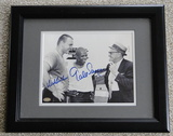 """Gale Sayers & Dick Butkus Signed 8"""" X 10"""", Framed With Hologram, COA"""