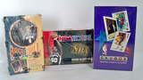 Three Boxes Basketball Wax Packs, Shrink Sealed in Original Package