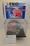 Tony Dungy Signed Buccaneers Mini Helmet With COA, Display Case and Box