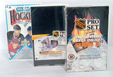 Three Boxes Hockey Wax Packs in Original Shrink Sealed Packages