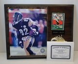 """Bobby Shaw Signed 8"""" X 10"""" With Card On Plaque, Hologram and COA"""
