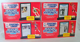 Lot of 4 Kenner Starting Lineup Headline Collection Basketball Figures in Original Packages