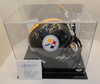 Ben Roethlisberger Signed, Full Size Replica, Steelers Helmet With COA and Display Case