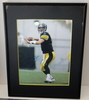 """Ben Roethlisberger Signed 8"""" X 10"""" Pic, Framed 11"""" X 14"""" With COA"""
